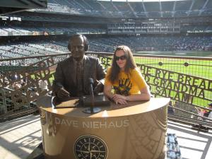 With Dave at Safeco Field